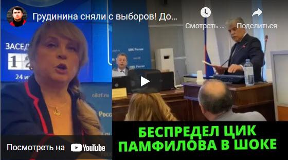 Николай Бондаренко: «Беспредел ЦИК. Памфилова в шоке»