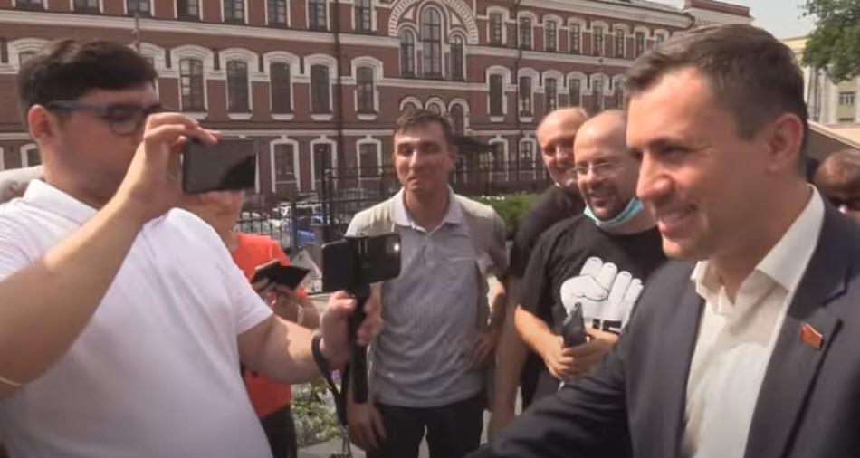 Николай Бондаренко после суда: «Победа! Продолжаю борьбу!»