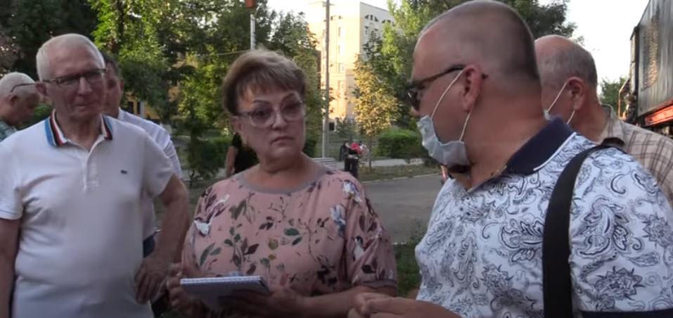 Встреча Ольги Алимовой с жителями Октябрьского района