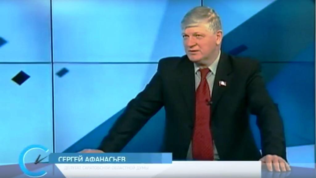 Сергей Афанасьев в специальном телепроекте « Открытая позиция» на телеканале «Саратов-24»