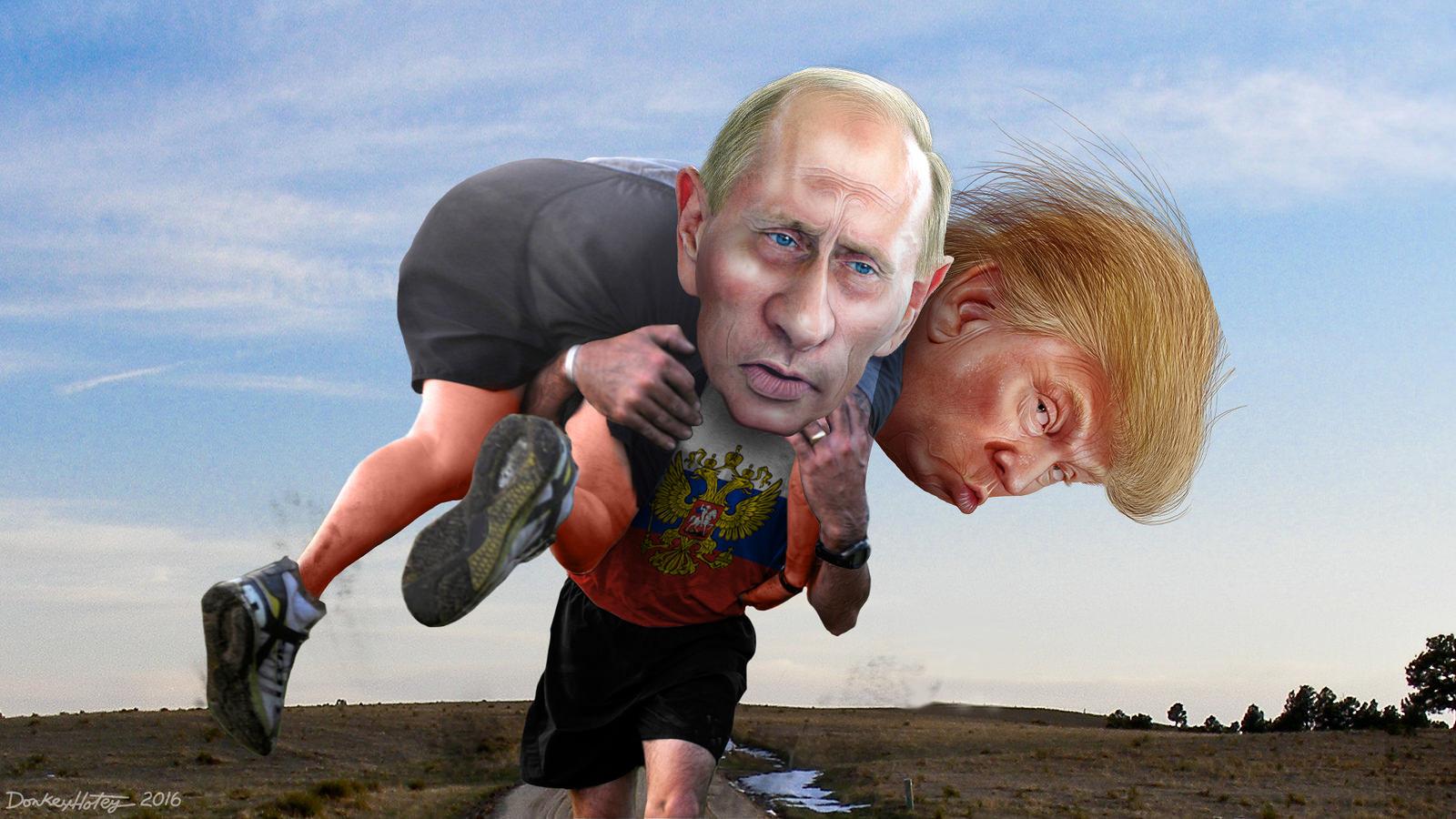 """""""Это так верно"""", - Трамп прокомментировал слова Путина об """"унизительном поражении"""" Клинтон на выборах - Цензор.НЕТ 1945"""