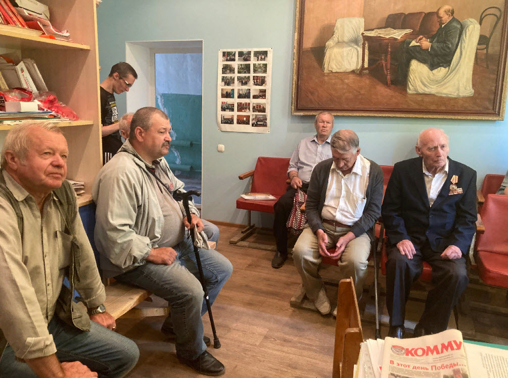 Коммунисты Аткарского местного отделения КПРФ провели отчетно-выборное собрание