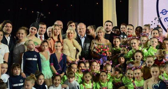 Во имя добра! Г.А. Зюганов зажег факел на открытии фестиваля спорта в Москве