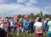 В Марксе состоялся митинг КПРФ против повышения пенсионного возраста