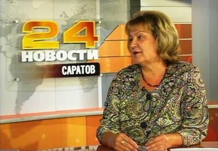 Ольга Алимова в сентябрьском выпуске программы «Мнение политика»