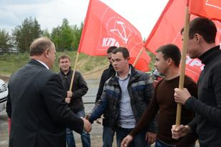 «Россия-24» о визите Председателя ЦК КПРФ Г.А. Зюганова в Чувашию