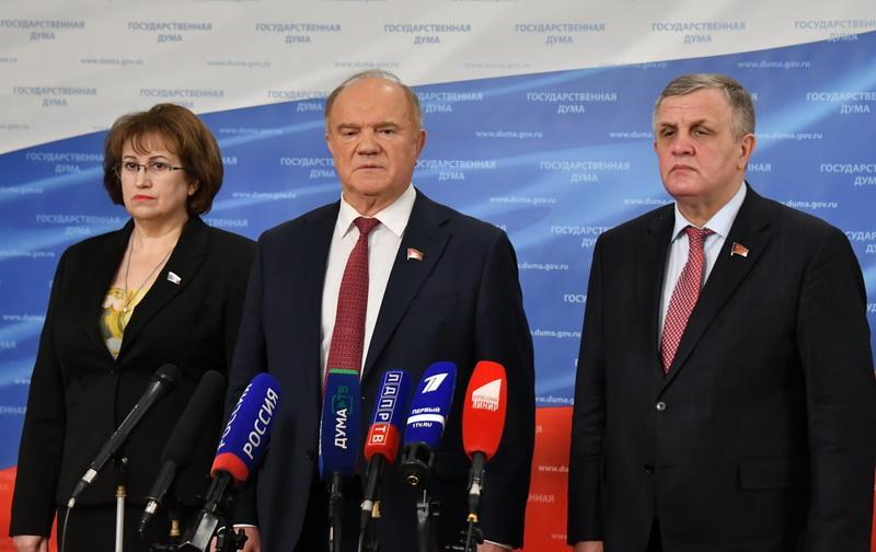 Г.А. Зюганов заявляет, что на Госсовете поднимет вопрос приватизации ГУПов и МУПов