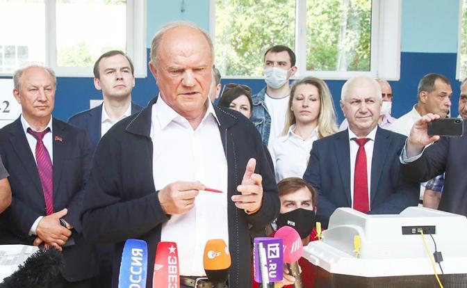 Свободная Пресса. Геннадий Зюганов: Путин хорошо информирован по голосованию спецслужбами