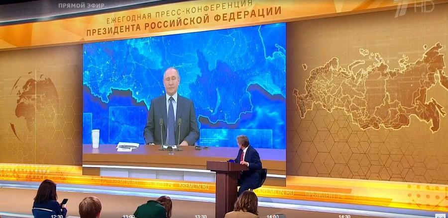 Ольга Алимова о пресс-конференции президента Путина: Ждали-ждали… Рекламировали-рекламировали…