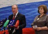 «Пожары, выборы, налоги». В.Ф. Рашкин и В.А. Ганзя выступили перед журналистами в Госдуме