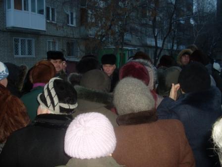 И.О. министра заставил мёрзнуть защитников парка