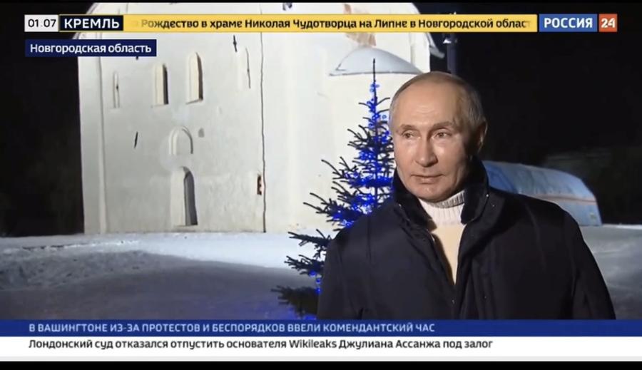 Сергей Обухов про «политическое Рождество-2021» и новогодне-святочные «забавы» в России и США