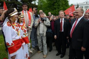 25 мая продолжилась рабочая поездка Г.А. Зюганова в Чувашию