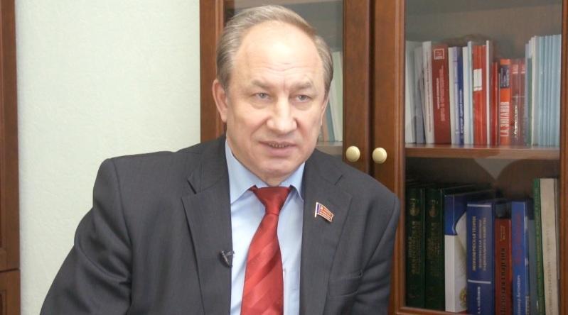 В.Ф.Рашкин о выступлении Председателя правительства РФ Д.А. Медведева