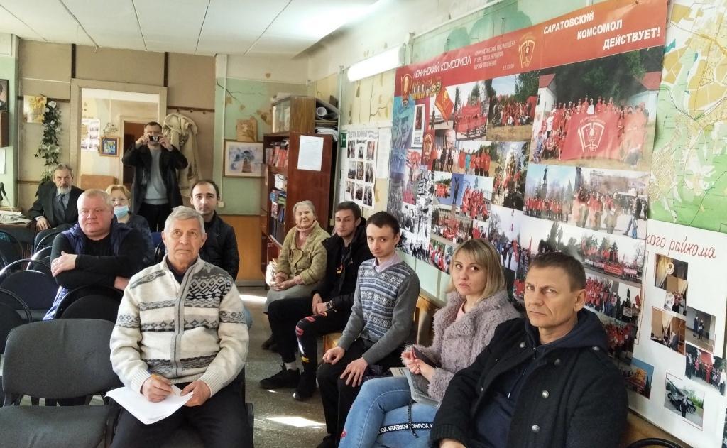 Саратов. Торжественное собрание КПРФ, посвящённое 150-летию Владимира Ильича Ленина