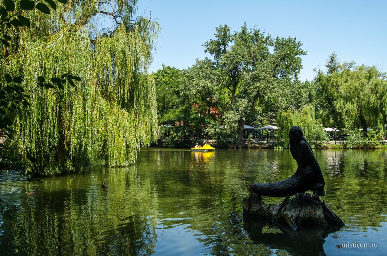 Ольга Алимова поздравила с юбилеем Городского парка культуры и отдыха
