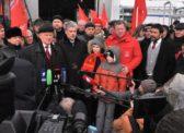 Донбасс, мы с тобой! 70-й Юбилейный гуманитарный конвой ушел на Юго-Восток Украины