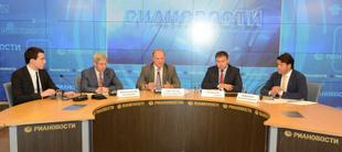 Г.А. Зюганов: «Впереди – горячая осень!» Пресс-конференция лидера КПРФ в РИА «Новости»