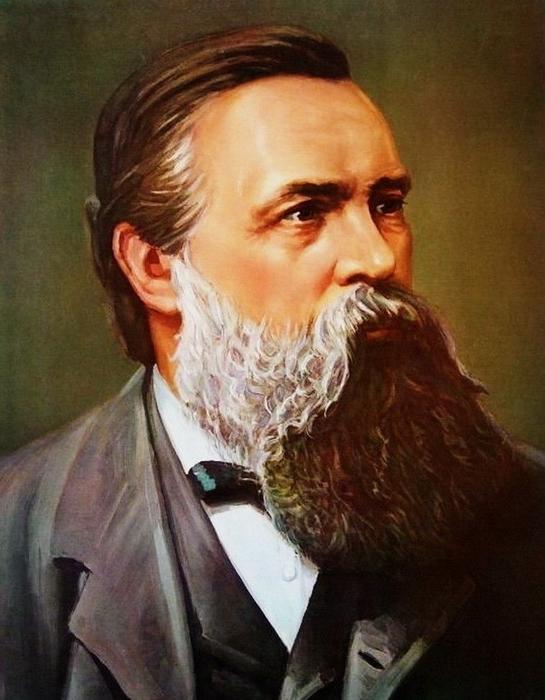 РУСО: К 200-летию Фридриха Энгельса. «Великий мыслитель»