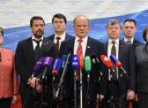 Г.А. Зюганов: Мы будем продолжать настойчиво требовать провести капитальный ремонт Конституции