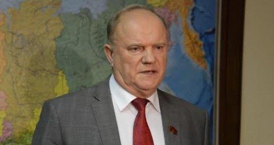 Г.А. Зюганов: Россия должна де факто признать ДНР и ЛНР