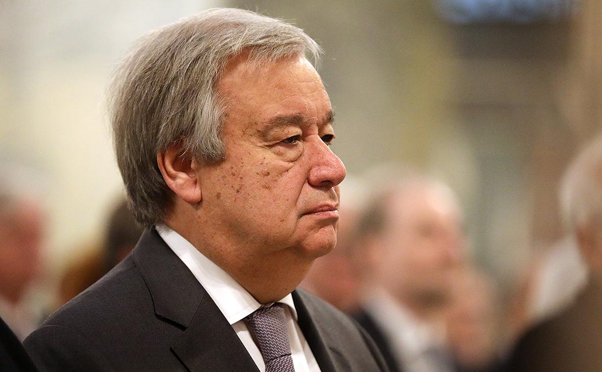 Генсек ООН заявил о сосредоточении половины богатств мира у 26 человек