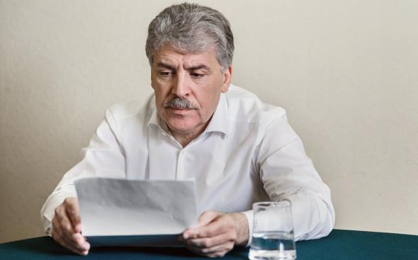 «Видимо, заказ шел с самого верха». С.П. Обухов прокомментировал снятие Грудинина с выборов