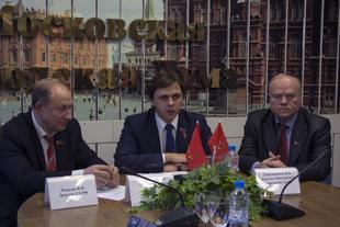В.Ф. Рашкин: «На выборы в Мосгордуму мы выдвинем красный список Зюганова!»