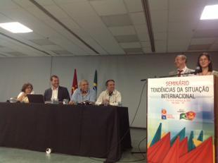 В.Ф. Рашкин принял участие в 13-м съезде Коммунистической партии Бразилии