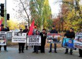 Саратов. Пикет КПРФ, приуроченный к 26-й годовщине трагических событий, произошедших в октябре 1993 года