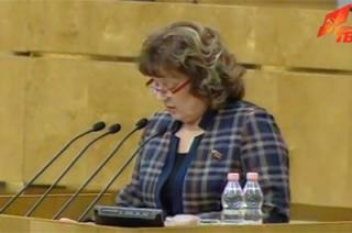 «Ошалевшие от безнаказанности». О.Н. Алимова с парламентской трибуны рассказала о произволе руководства Саратовской области