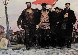 Газета «Правда» о диктатуре капитала и диктатуре пролетариата