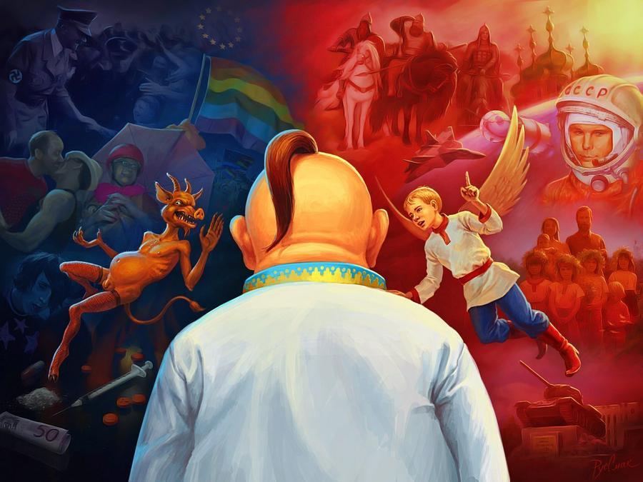 У России геополитика, а у Запада – гей-политика… Подборка политических анекдотов от И.И. Никитчука