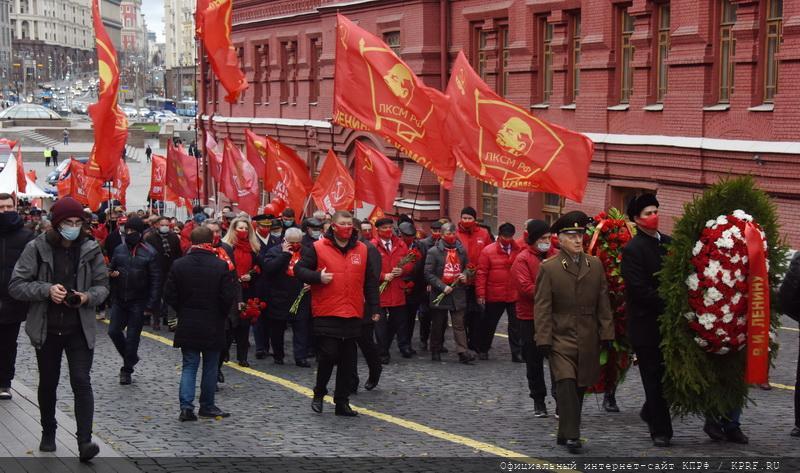 Г.А. Зюганов: «Великий Октябрь – главный праздник нашей планеты»