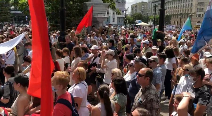 Сергей Обухов про якобы «8-10 тыс. участников Хабаровского протеста, которые ещё не весь край»