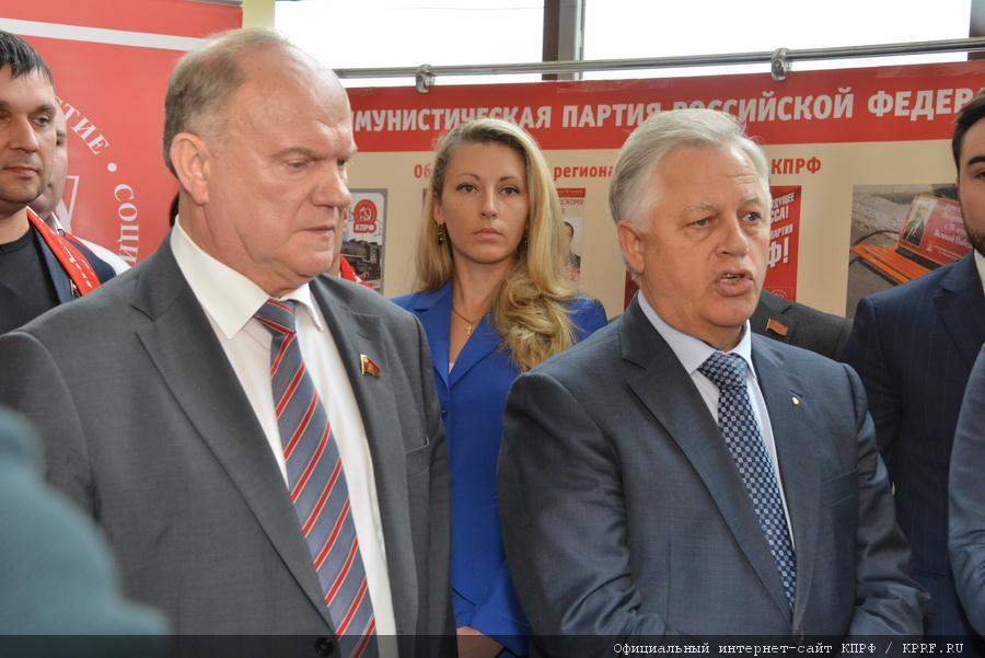 Г.А. Зюганов: «Лидеров партийных списков определим по результатам работы с избирателями»