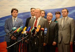 Г.А. Зюганов о ситуации на юго-востоке Украины: Это война нацистов и натовцев против России