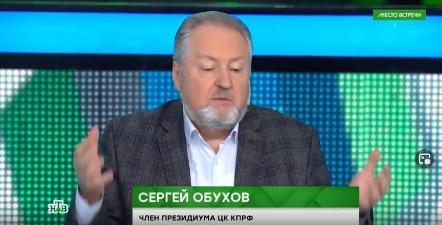 Сергей Обухов на НТВ: В 2021 году нельзя поддаваться коронавирусному страху и надо не допустить «электронный концлагерь» в стране!