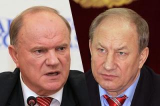 Зюганов, Рашкин и Бортко приняли участие в программе «Говорим и показываем»