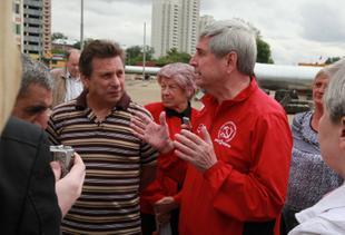 Иван Мельников на встрече с москвичами: «Первое, что я сделаю, – изменю структуру власти»