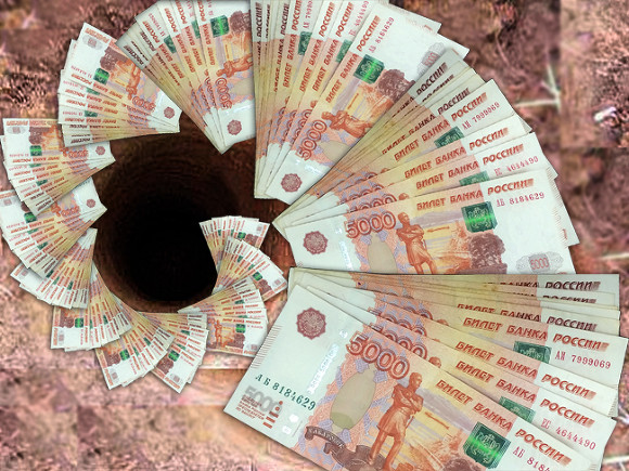 Россия завершила полгода с дефицитом бюджета почти в триллион рублей