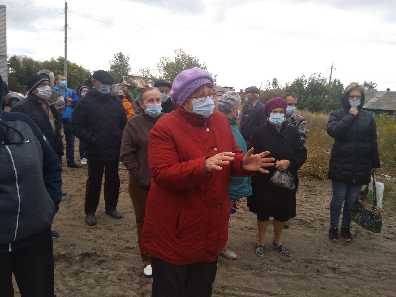 Жители Красного Текстильщика: «Присоединению к Саратову — Нет!»