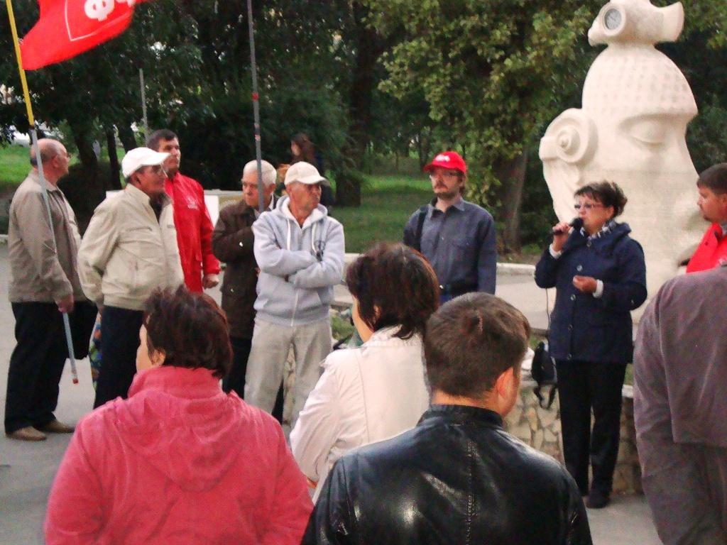 Ольга Алимова провела встречу с жителями Заводского района города Саратова
