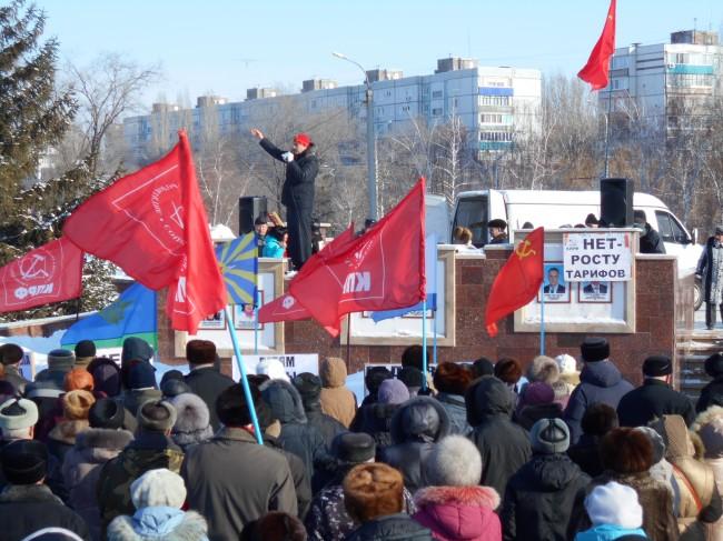 «Резонанс на митинг 8 февраля, или наш ответ Салимжану Гайсину». Жители города Балаково встали на защиту коммуниста Александра Анидалова и организаторов акции протеста