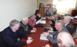 Заседание бюро Саратовского обкома партии