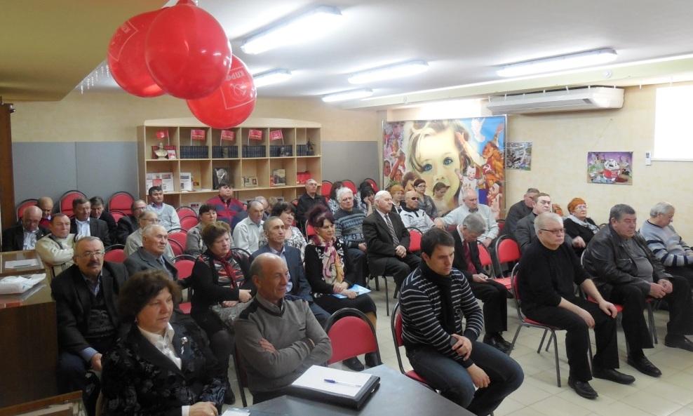Совещание секретарей местных отделений Саратовского обкома КПРФ