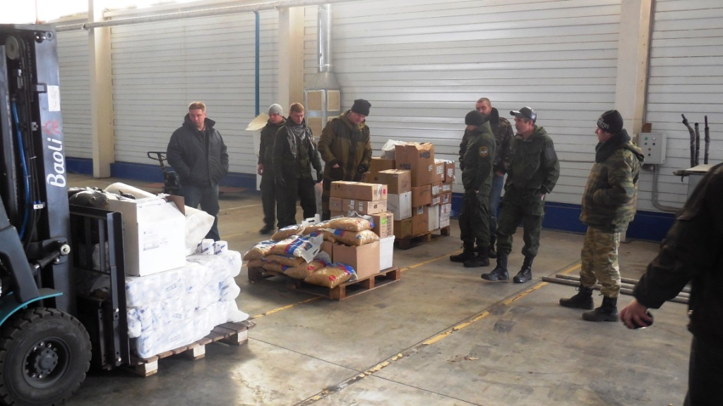 Гуманитарный груз для Новороссии доставлен
