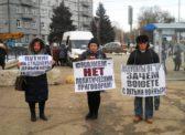 Саратовские активисты КПРФ провели очередные пикеты в поддержку Павла Грудинина и Сергея Левченко