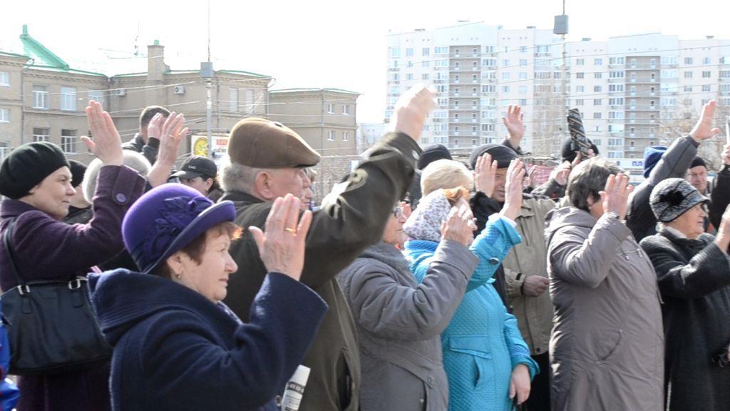 Требования мостовиков: рабочий контроль над предприятием и восстановление СССР!