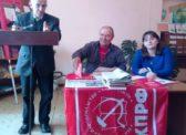 Романовка. Собрание посвящённое 140 летнему юбилею И.В.Сталина